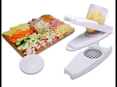 Nicer dicer cortador fatiador legumes verduras frutas cbr1011 youtube - Mandoline cuisine tupperware ...