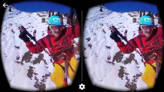 360 virtual reality headset flying experience compilation