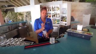 Make Bermuda's Signature Dark N' Stormy Cocktail