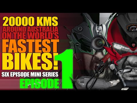 Ep1 :: Roadtrip Around Australia On Kawasaki Ninja H2 And Ducati Panigale 1299
