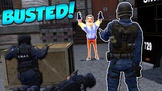 HELLO NEIGHBOR SWAT RESCUE?! - Garry's Mod Gameplay - Gmod Sandbox SWAT Rescue Roleplay
