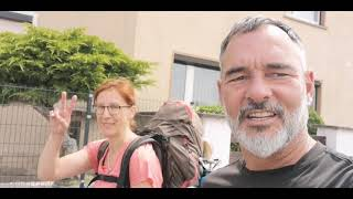 Day 213 from Geußnitz to Pahna - Hike around the world against suicide & depression - walk for life