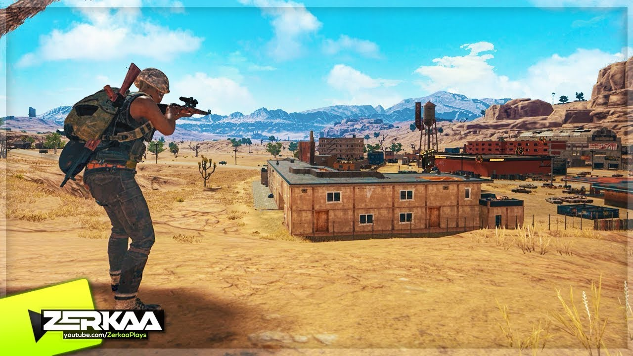 Playerunknown S Battlegrounds Maps Loot Maps Pictures: NEW PUBG DESERT MAP 'MIRAMAR' (PlayerUnknowns