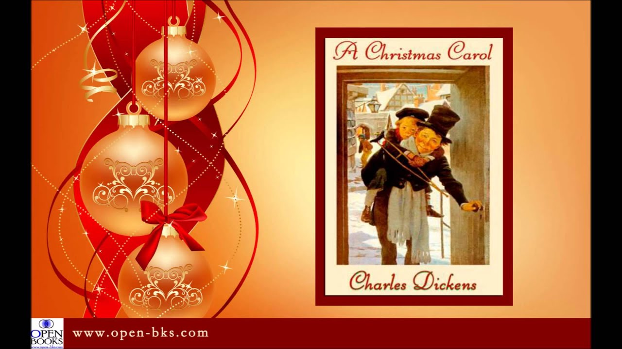 A Christmas Carol by Charles Dickens: Introduction, Stave I (Audio) - YouTube