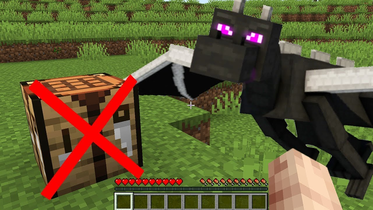 How to beat minecraft without crafting / No Crafting Survival Challenge