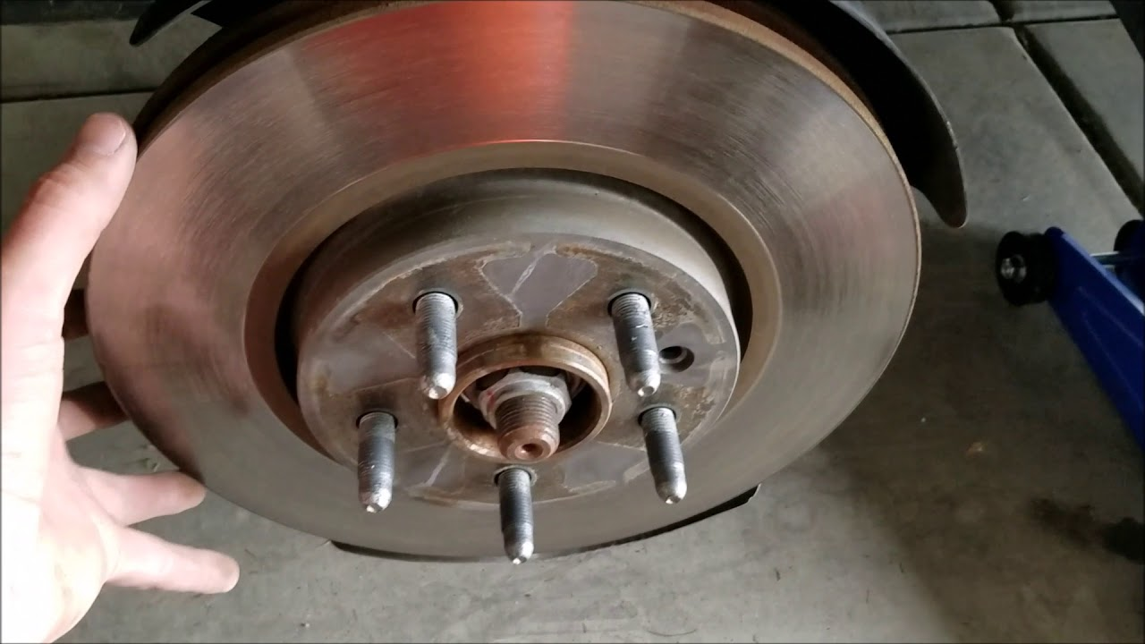 When To Replace Brake Pads >> How To Replace Brake Pads And Rotors On 2012 Chevy Equinox
