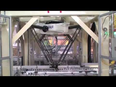 High Speed OMRON Adept Quattro Robots Used in Chocolate Manufacturing