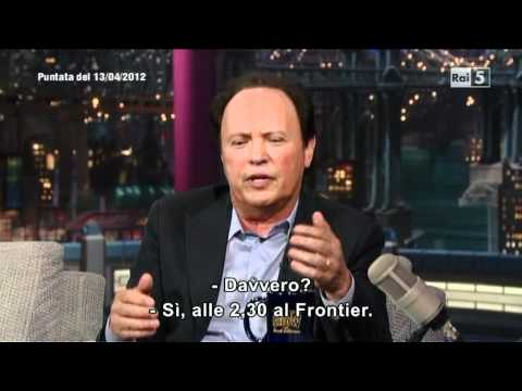 Billy Crystal al David Letterman  part 2