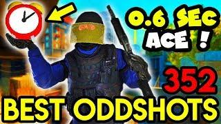 ACE IN 0.6 SEC !! - CS:GO BEST ODDSHOTS #352