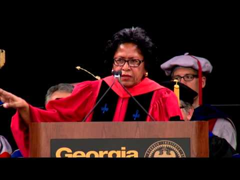 Spring 2013 Graduate Commencement Address, Dr. Ruth Simmons