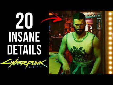 20 INSANE Details in Cyberpunk 2077