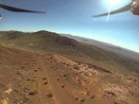 DJI F550 in the Desert