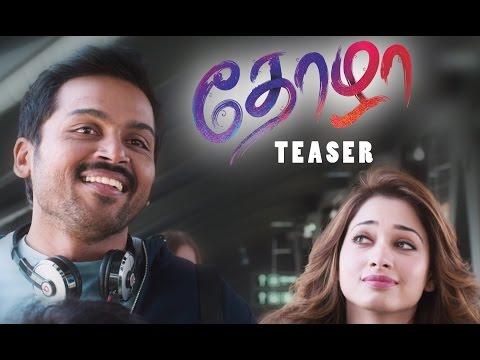 Thozha Teaser - Karthi, Nagarjuna, Tamannaah | Vamsi Paidipally, PVP
