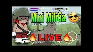 🔥MINI MILITIA:LIVE WITH SUBS🔥