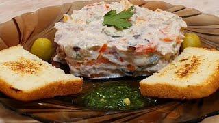салат с языком👈 #рецепты #салатысязыком #еда #вкусныерецепты