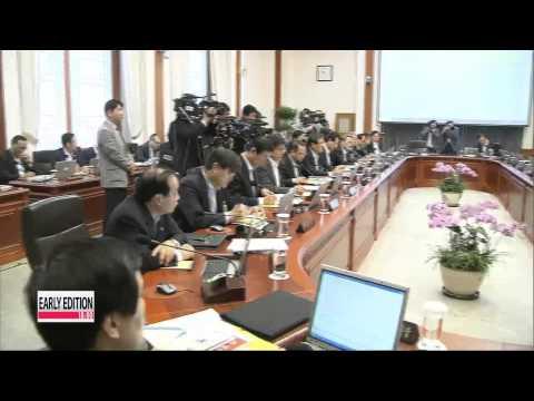 Pres. Park turns down health minister's resignation  진영 복지장관 사표 제출...정총리 즉각 반려