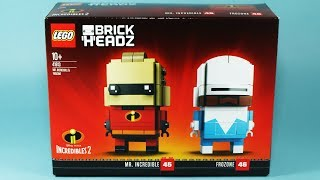 Lego Brick Headz Incredibles 2 - Mr. Incredible and Frozone