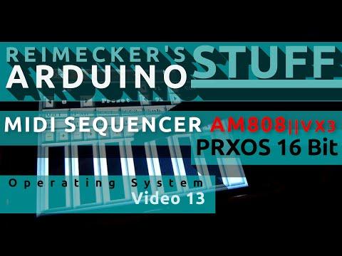 Prxos - Arduino Operating System Video 2.5
