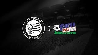 Spielaufzeichnung: Sturm Graz 4:3 SKU Amstetten (1:0)