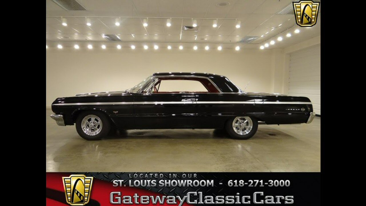 1964 Chevrolet Impala SS for sale at Gateway Classic Cars in - YouTube