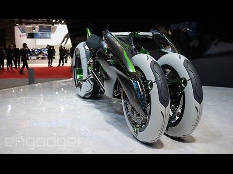 Kawasaki J Concept Bike at Tokyo Motor Show