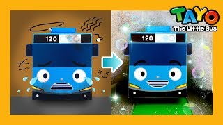 [57.34 MB] Car Wash Song l Miss Polly had a Dolly l Car songs l Learn Colors with Tayo the LIttle Bus