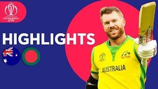 Download 700+ Runs In High Scorer! | Australia vs Bangladesh | ICC Cricket World Cup 2019 - Match Highlights Mp3 and Videos