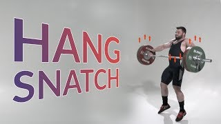 Hang SNATCH / weightlifting & crossfit