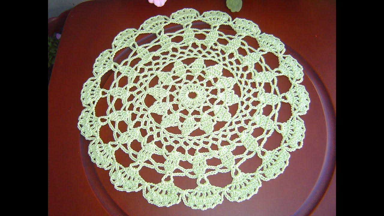 como tejer tapete carpeta redondo a crochet tutorial diy