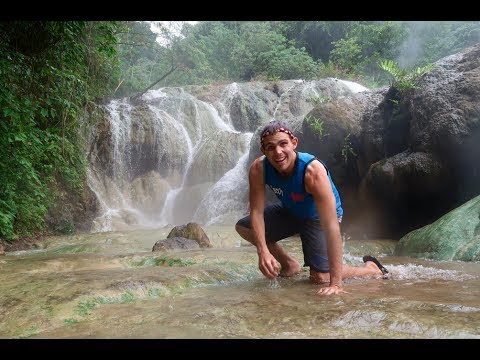 SECRET HOT SPRING WATERFALLS!! (Best Spots In The Philippines)