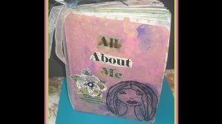 How to Make a Smash Book from a composition book / Part 1 / How To Make Your Own Smash Book