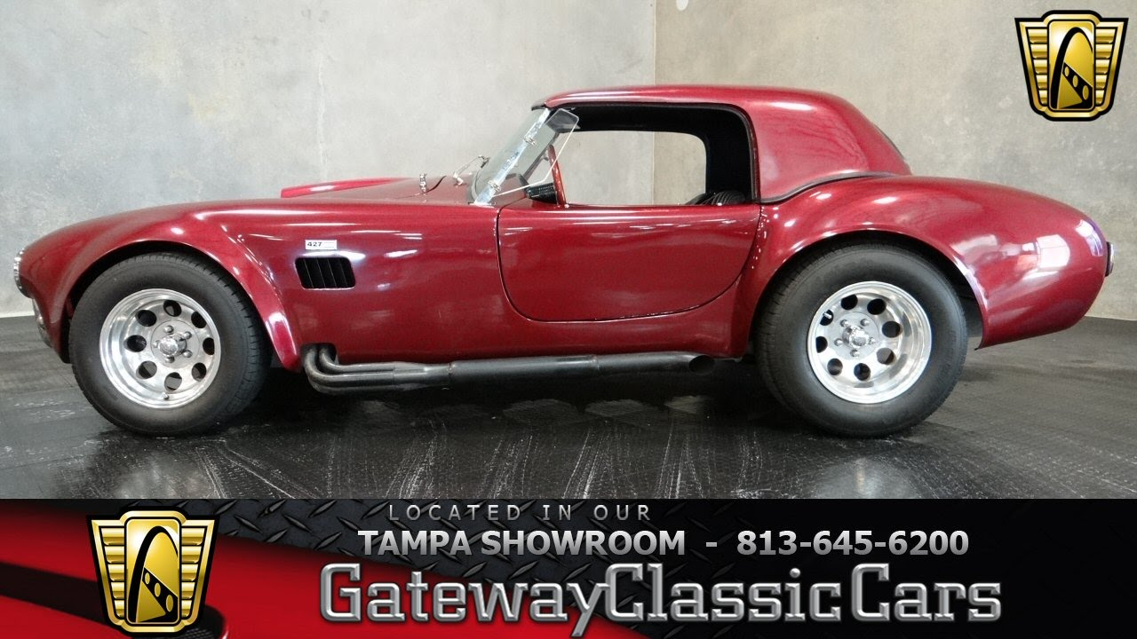 1966 Ac Cobra Hardtop Convertible Youtube
