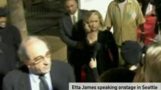 Etta James slams Beyonce for singing her song