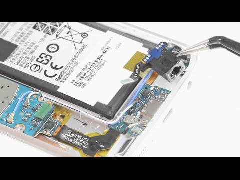 Samsung Galaxy S7 Headphone Jack Repair Guide - YouTube