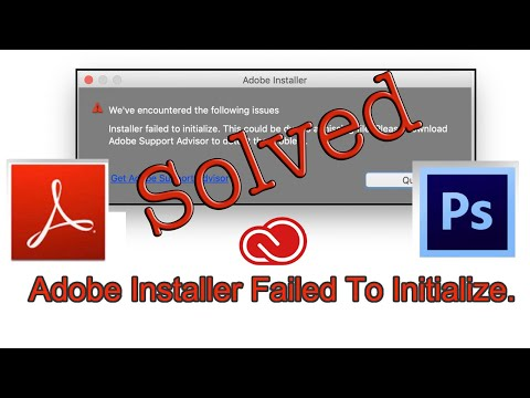 How to Fix Installer Failed To Initialize | photoshop cs6 installer failed to initialize