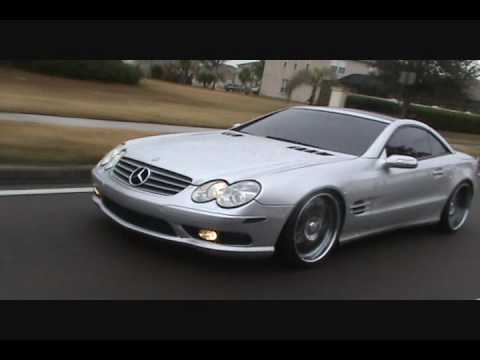 teetz mercedes sl 500 r230 youtube. Black Bedroom Furniture Sets. Home Design Ideas