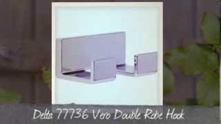 Delta 77736 Vero Bath Hardware Accessory Double Robe Hook - Bathroom Fixtures Reviews