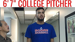 """CHIROPRACTIC Adjustment STRIKES out LOW BACK PAIN after Auto Accident of 6'7"""" PITCHER"""