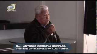 Dios Camina entre Nosotros. Alfa Y Omega en Los Olivos. Conferencia Hno Antonio Cordova Quezada