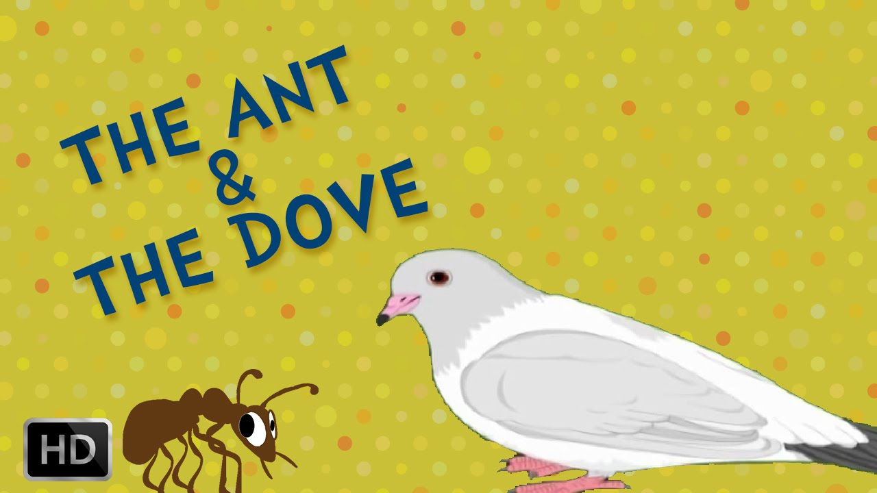 A List Of Fables And Their Morals aesop's fables - the ant and the dove - moral stories - animated / cartoon  stories for kids