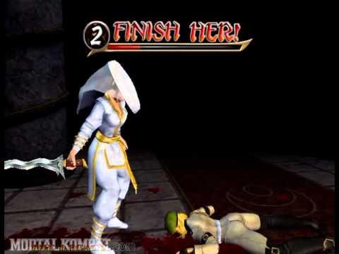 Mortal Kombat Armageddon - Playstation 2 & Xbox & Nintendo Wii - Kreate-A-Fatality All Attacks