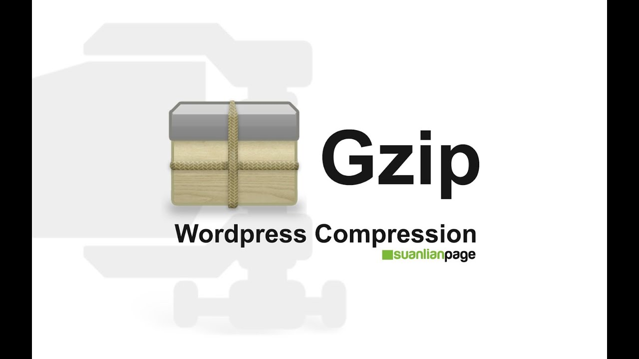 How to enable Gzip compression in wordpress?