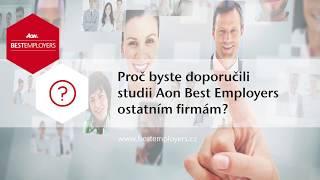 Aon Best Employers: Proč byste doporučili studii Aon Best Employers dalším firmám?