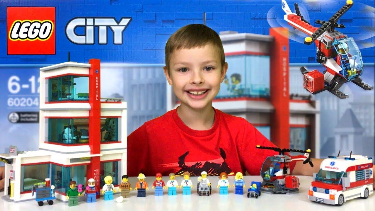 Szpital Recenzja Lego City 60204 Nowość Youtube
