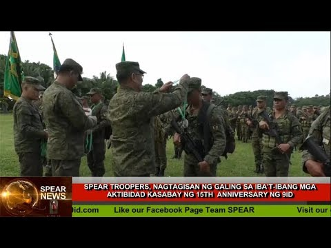 WEEKLY SPEAR NEWS REVIEW (October 5, 2019)