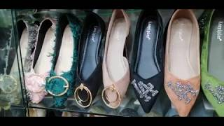 Fashionable flat shoes Eid collection 2019