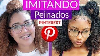 IMITANDO PEINADOS DE PINTEREST + BABY HAIRS DIY??