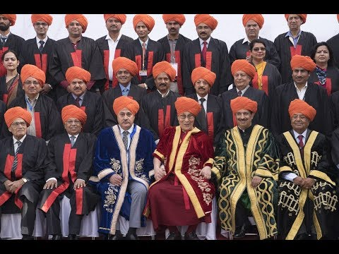 Central University Jammu First Convocation 18th March 2018 -  Sh. Dalai Lama. Complete Video