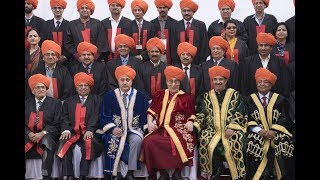 Central University Jammu - First Convocation 18th March 2018 - Chief Guest Sh. Dalai Lama