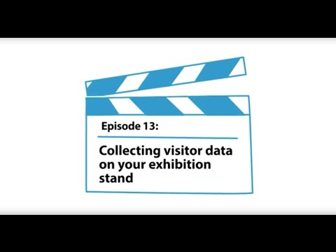 Collecting visitor data on your exhibition stand #13 - Zoom Display